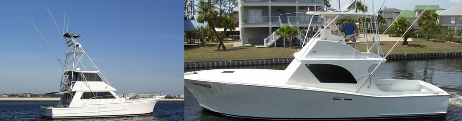 charter boat Lazy Line gulf shores deep sea fishing charters