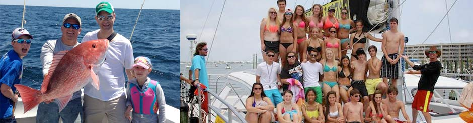Red Snapper Fishing - Wild Hearts group photo