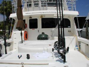 Necessity Charter Boat Back Deck