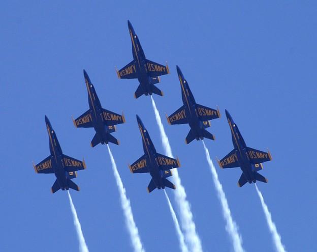 blue angel airshow