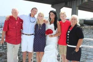 Wedding charters Alabama gulf coast