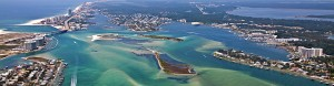 Orange Beach AL aerial photo