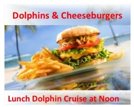Orange Beach Dolphin Cruise Lunch Cheeseburgers Served