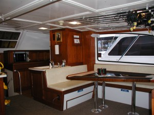 Luxury Charter Boat Salon Orange Beach AL