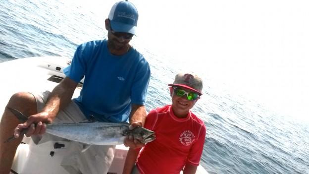 Gulf Shores AL Inshore Fishing Guide Mackerel fishing in the Gulf of Mexico