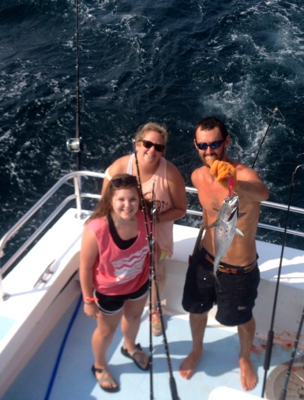 Bonita and lady Arizona anglers gulf shores al deep sea fishing