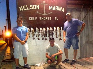 back bay fishing charters bon secour al sheepshead redfish