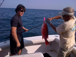 gulf shores deep sea fishing charters bottom fishing for snappers