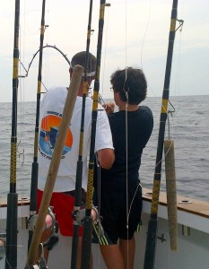 gulf shores deep sea fishing charters bottom fishing for amberjack