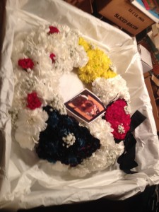 Burial at Sea Wreath