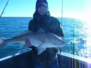 redfishing along the AL Gulf Coast Thanksgiving 2014