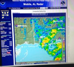 gulf shores al radar Mid March 2015
