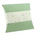 biodegradable marine urn for sea burial pillow design fern colored