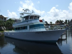 Deep sea fishing charters gulf shores al aboard Alabama Party Boat Miss E