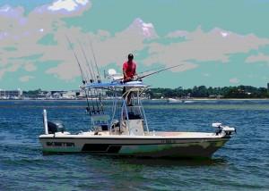 Salt Style AL inshore fishing charter boat back bay & gulf of mexico fishing trips