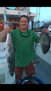 triggerfish & king Mackerel AL Deep Sea Fishing Orange Beach AL