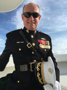 Dress Whites for a Final Farewell Burial at Sea