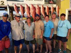 red snapper fishing on the alabama gulf coast shared expense deep sea fishing charter