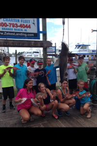family friendly deep sea fishing trips in Orange Beach AL on Big Adventure