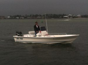 24' Inshore Charter Boat Captain Tom Myers
