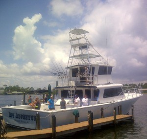 Luxury Fishing Charter Boat Salon Images For Orange Beach Hire Fleet